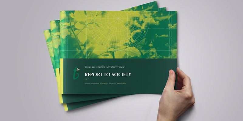 Tshikululu's Report to Society 2017 Now Available