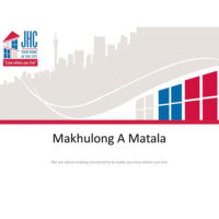 Makhulong A Matala Community Development Services